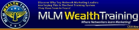 MLM Wealth Training with Joe Syverson