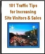 FREE EBOOK (no opt-in required): 101 Traffic Tips