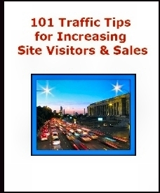 101 Traffic Tips - Click to Download, Then SAVE