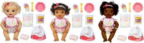 Baby Alive Learns to Potty Dolls