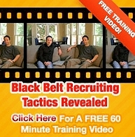 Black Belt Recruiting - Instant FREE 60 Min. Video