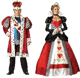 The King and Queen of Hearts Costume