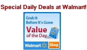 Save with DAILY Deals at Walmart!